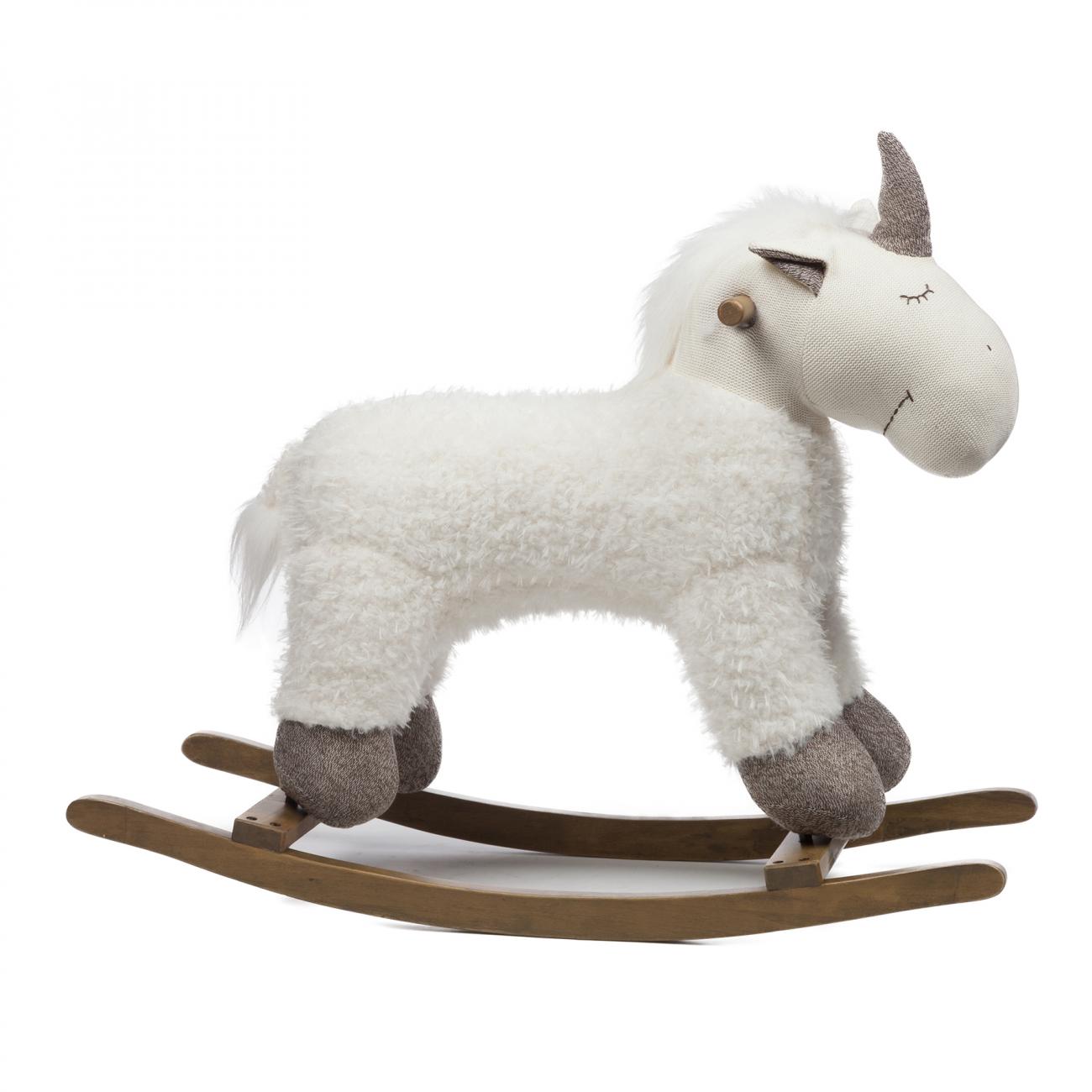 Купить Игрушка-качалка Единорог в интернет магазине дизайнерской мебели и аксессуаров для дома и дачи