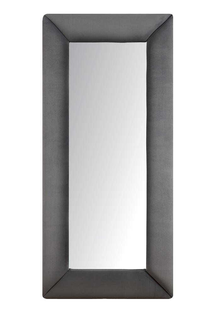 Зеркало напольное СероеЗеркала<br>Зеркала являются незаменимыми элементами <br>декора или элементами интерьера. Большие <br>зеркала способны создавать причудливые <br>эффекты: зритель увеличивать комнату, создавать <br>иллюзию удлиненной комнаты, углублять ниши. <br>Зеркало в полный рост, имеет, также, практическое <br>применение. Чтобы разобраться, где такие <br>зеркала будут смотреться лучше всего, следует <br>рассмотреть все варианты.<br><br>Цвет: Серый<br>Материал: Древесный материал<br>Вес кг: None<br>Длина см: 83<br>Ширина см: 5<br>Высота см: 175