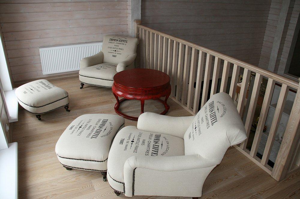 Кресло Thomas EiFFeL Белое