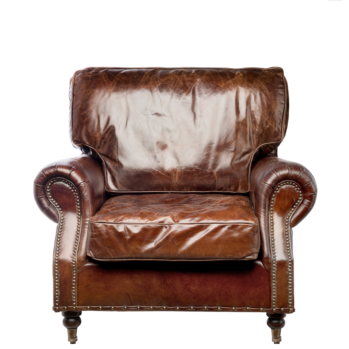 Купить Кресло Maxwell Коричневое в интернет магазине дизайнерской мебели и аксессуаров для дома и дачи