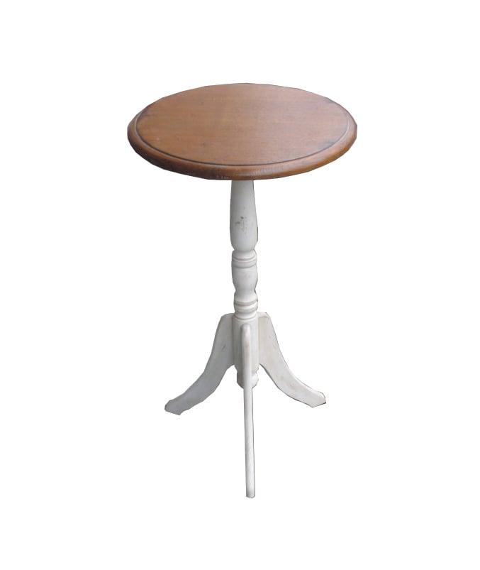 Приставной столик Mobilier de Maison Круглый Коричневый,  DO-D-15