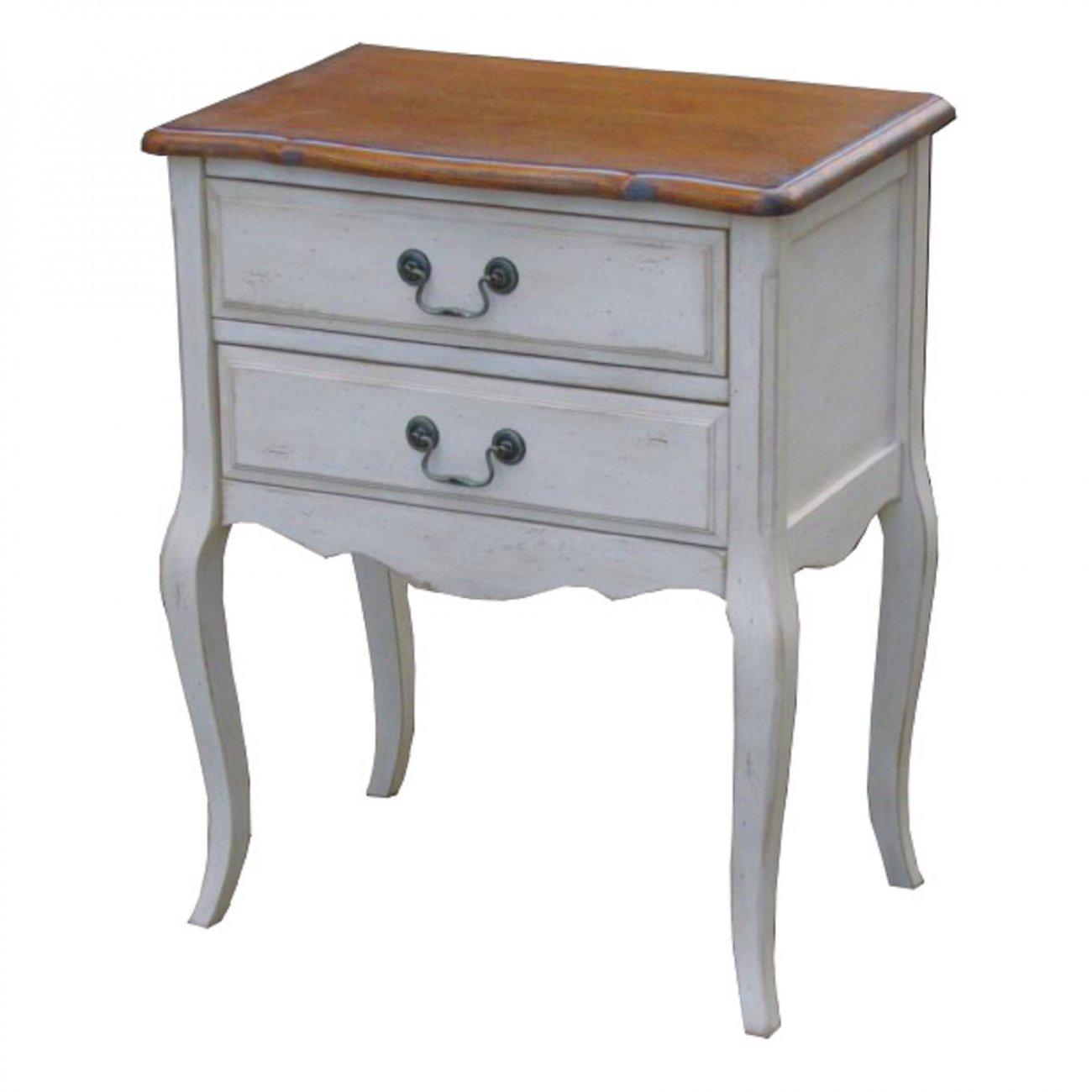 Купить Прикроватная тумба Mobilier de Maison Белая в интернет магазине дизайнерской мебели и аксессуаров для дома и дачи