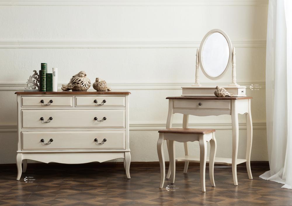 Комод широкий Mobilier de Maison Белый