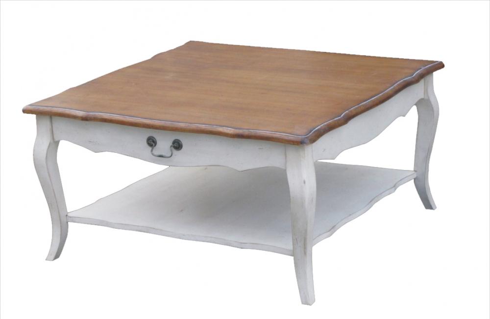 Журнальный стол Mobilier de Maison Низкий Коричневый