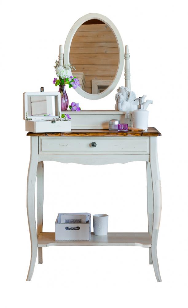 Будуарный стол Mobilier de Maison Компактный Белый