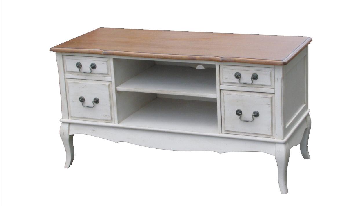 Купить TV-консоль Mobilier de Maison Белая в интернет магазине дизайнерской мебели и аксессуаров для дома и дачи