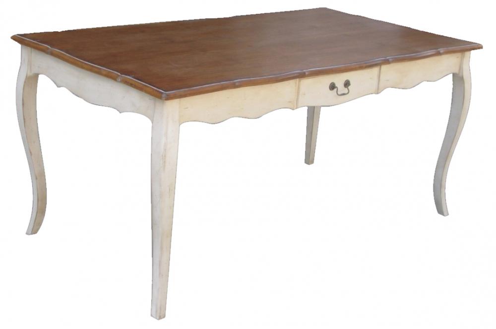Стол обеденный с ящиком Mobilier de Maison Коричневый