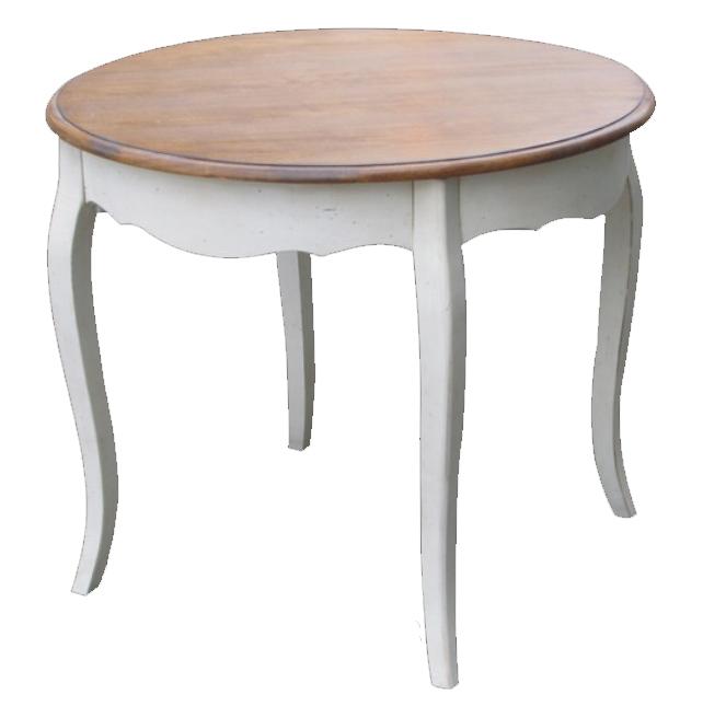 Обеденный стол Круглый Mobilier de Maison Белый