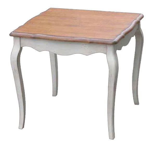 Обеденный стол Квадратный Mobilier de Maison Белый, • DO-D-67