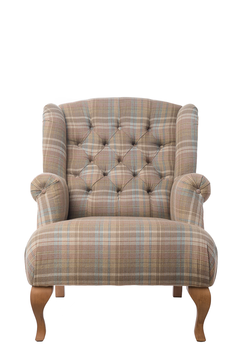 Кресло Flemming Бежевое | Кресла
