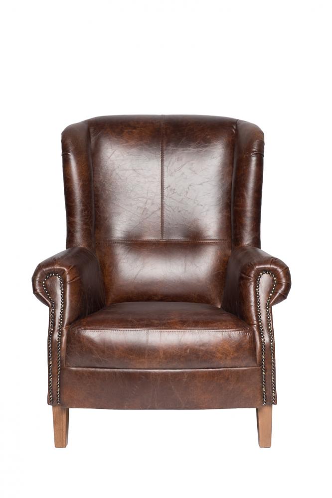 Кресло Shannon Коричневая Кожа от DG-home