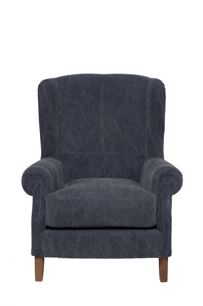 Кресло Shannon Серо-синее, DO-D-101 от DG-home