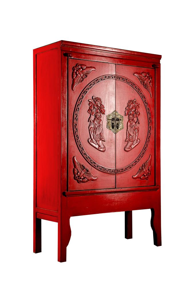 Шкаф Гуй Красный