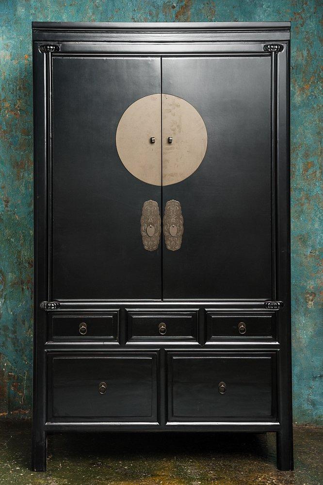 Шкаф Gudong3 Чёрный