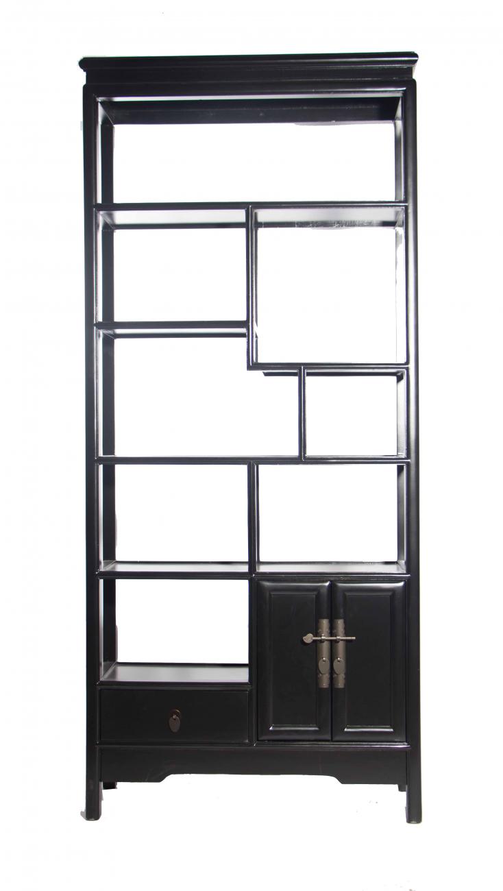 Купить Стеллаж Gudong Чёрный в интернет магазине дизайнерской мебели и аксессуаров для дома и дачи