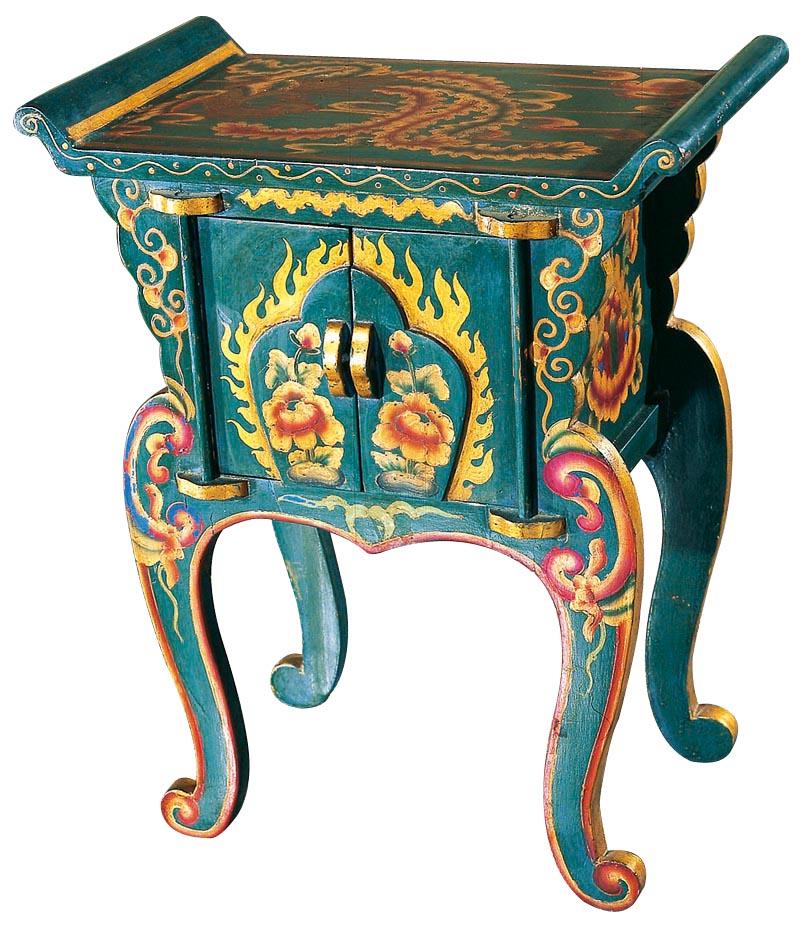 Купить Консоль Сян-ань Синяя в интернет магазине дизайнерской мебели и аксессуаров для дома и дачи