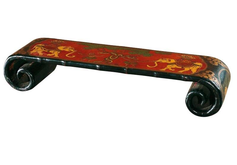 Купить Подставка Кан-ань-сяо Красная в интернет магазине дизайнерской мебели и аксессуаров для дома и дачи