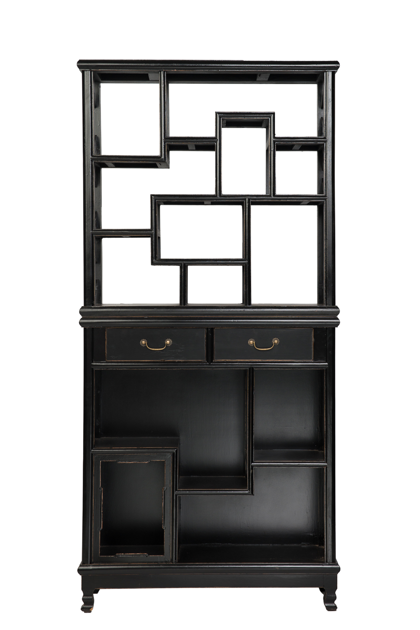 Купить Стеллаж Шу-гэ Чёрный в интернет магазине дизайнерской мебели и аксессуаров для дома и дачи