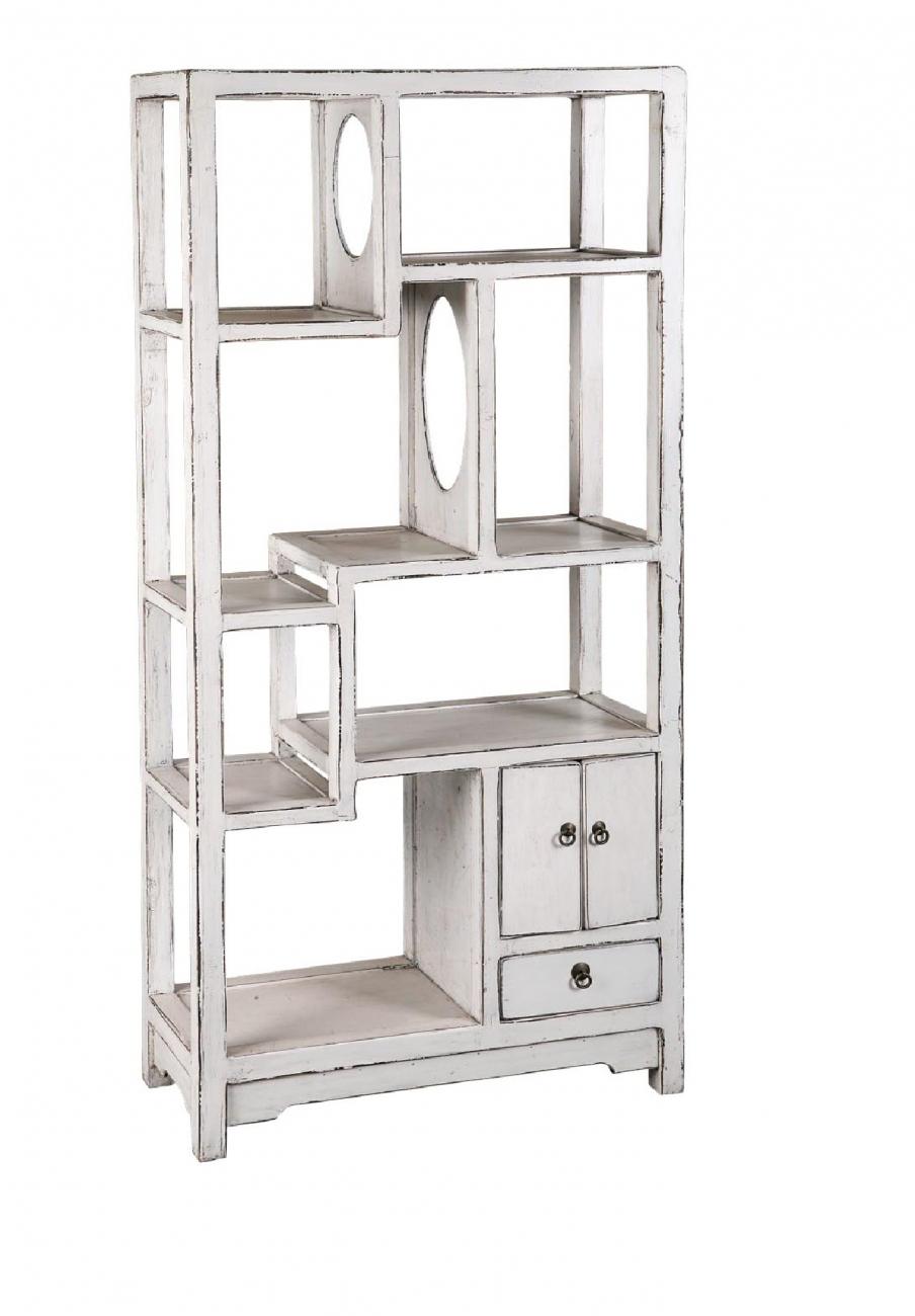 Купить Стеллаж До-Бао-Гэ Белый в интернет магазине дизайнерской мебели и аксессуаров для дома и дачи