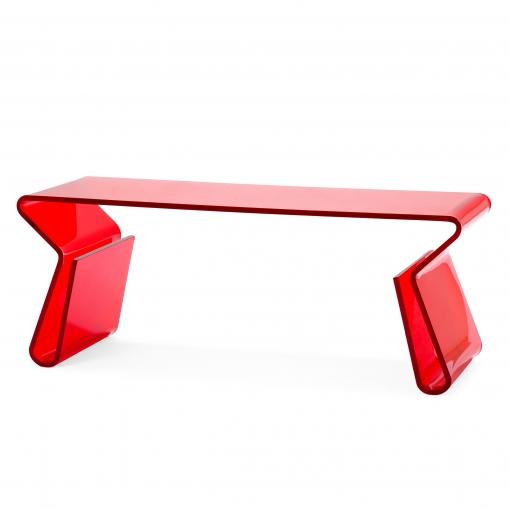 Купить Кофейный стол Acrylic Красный в интернет магазине дизайнерской мебели и аксессуаров для дома и дачи
