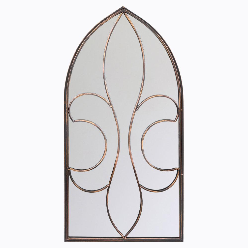 Купить Настенное зеркало Флореаль (бронзовый антик) в интернет магазине дизайнерской мебели и аксессуаров для дома и дачи