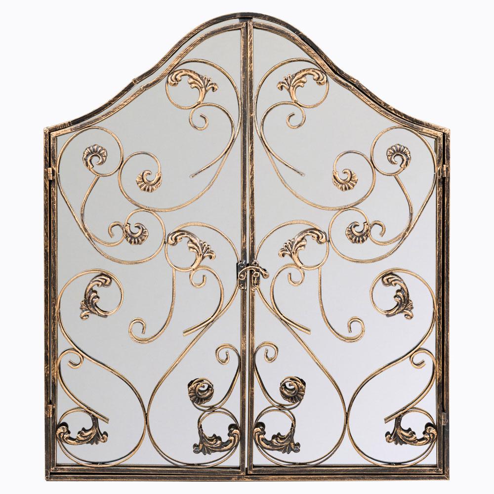Купить Настенное зеркало Монтанер королевская бронза в интернет магазине дизайнерской мебели и аксессуаров для дома и дачи