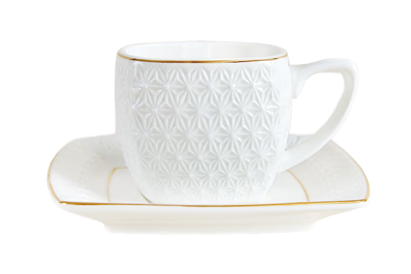 Купить Кофейная пара The snow Queen 200 мл в интернет магазине дизайнерской мебели и аксессуаров для дома и дачи