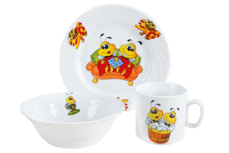 Купить Набор посуды Bees в интернет магазине дизайнерской мебели и аксессуаров для дома и дачи