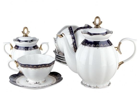 Купить Чайный сервиз Cobalt в интернет магазине дизайнерской мебели и аксессуаров для дома и дачи