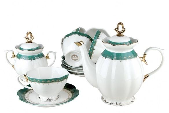 Купить Чайный набор Emerald в интернет магазине дизайнерской мебели и аксессуаров для дома и дачи