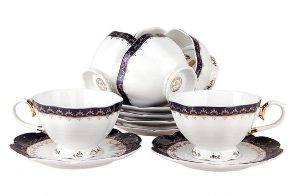 Купить Чайный сервиз Cobalt 2 в интернет магазине дизайнерской мебели и аксессуаров для дома и дачи
