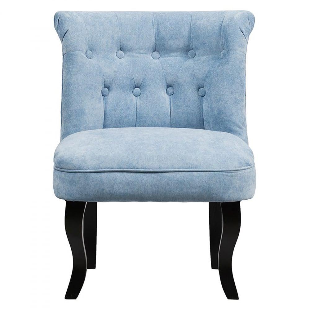 Кресло Dawson Голубой Велюр