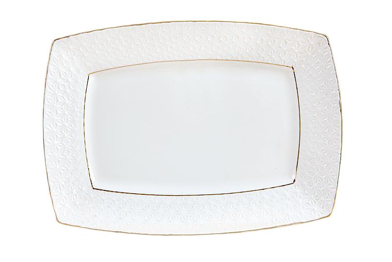 Купить Блюдо Прямоугольное The snow Queen 28 см в интернет магазине дизайнерской мебели и аксессуаров для дома и дачи