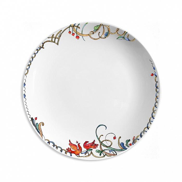 Купить Тарелка столовая Петушки в интернет магазине дизайнерской мебели и аксессуаров для дома и дачи