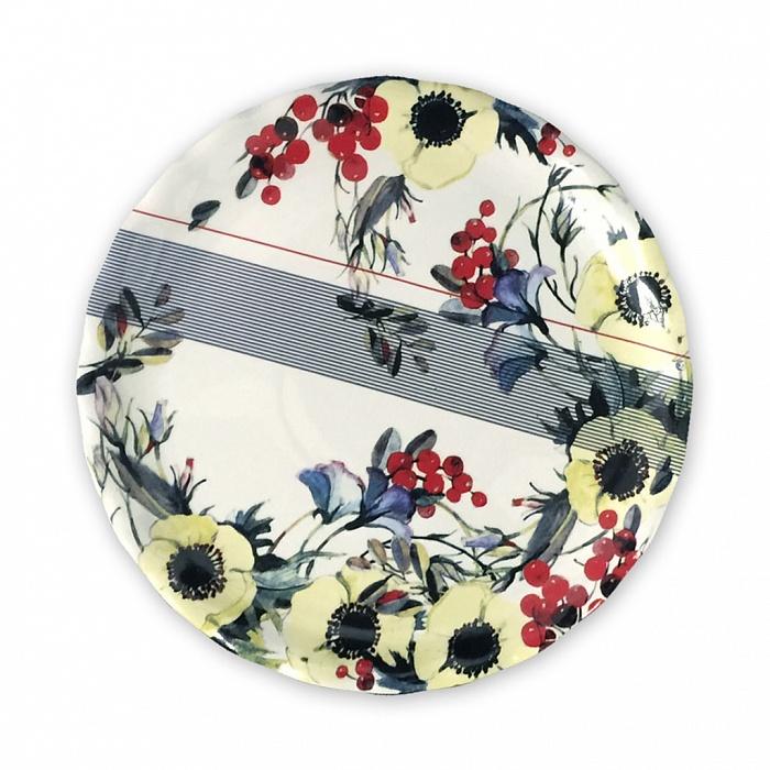 Купить Тарелка Анемоны 260 мм в интернет магазине дизайнерской мебели и аксессуаров для дома и дачи