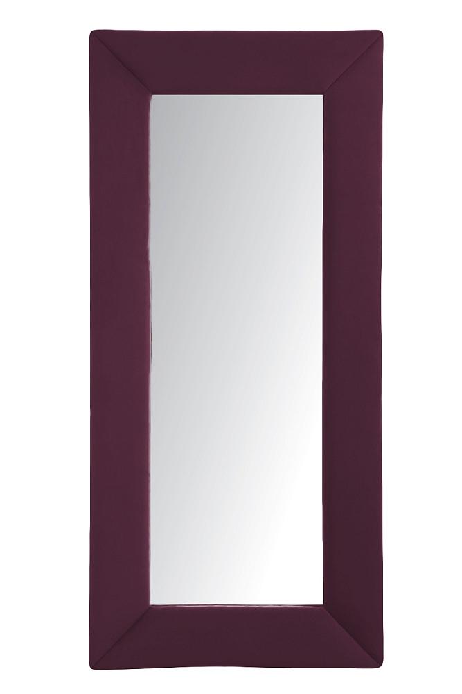 Зеркало напольное БордовоеЗеркала<br>Зеркала являются незаменимыми элементами <br>декора или элементами интерьера. Большие <br>зеркала способны создавать причудливые <br>эффекты: зритель увеличивать комнату, создавать <br>иллюзию удлиненной комнаты, углублять ниши. <br>Зеркало в полный рост, имеет, также, практическое <br>применение. Чтобы разобраться, где такие <br>зеркала будут смотреться лучше всего, следует <br>рассмотреть все варианты.<br><br>Цвет: Бордовый<br>Материал: Древесный материал<br>Вес кг: None<br>Длина см: 83<br>Ширина см: 5<br>Высота см: 175