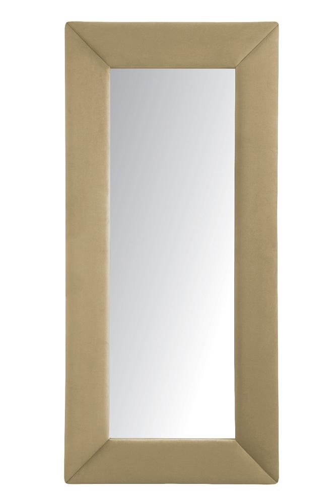 Зеркало напольное БежевоеЗеркала<br>Зеркала являются незаменимыми элементами <br>декора или элементами интерьера. Большие <br>зеркала способны создавать причудливые <br>эффекты: зритель увеличивать комнату, создавать <br>иллюзию удлиненной комнаты, углублять ниши. <br>Зеркало в полный рост, имеет, также, практическое <br>применение. Чтобы разобраться, где такие <br>зеркала будут смотреться лучше всего, следует <br>рассмотреть все варианты.<br><br>Цвет: Бежевый<br>Материал: Древесный материал<br>Вес кг: None<br>Длина см: 83<br>Ширина см: 5<br>Высота см: 175