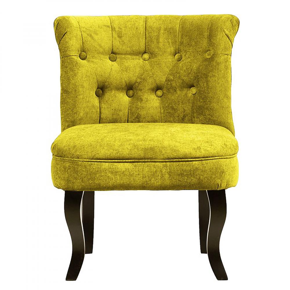 Кресло Dawson Жёлтый ВелюрКресла<br>Кресло Dawson — неимоверно комфортное, удобное <br>и красивое — выглядит так, словно вам его <br>только что доставили из роскошного дома <br>аристократической Франции. Богатая обивка, <br>благородная форма деревянного каркаса <br>самого предмета мебели, изящные ножки, нежный <br>цвет — все говорит о его изысканности и <br>шарме. Такое кресло непременно украсит <br>ваш дом, добавив не только очарование и <br>лоск, но и уют и тепло.<br><br>Цвет: Желтый<br>Материал: Велюр, Дерево<br>Вес кг: 8,5<br>Длина см: 50<br>Ширина см: 50<br>Высота см: 73
