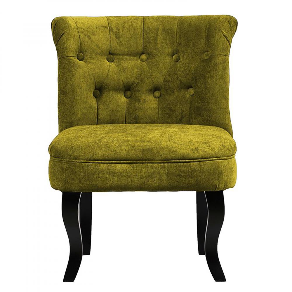 Кресло Dawson Оливковый ВелюрКресла<br>Кресло Dawson — неимоверно комфортное, удобное <br>и красивое — выглядит так, словно вам его <br>только что доставили из роскошного дома <br>аристократической Франции. Богатая обивка, <br>благородная форма деревянного каркаса <br>самого предмета мебели, изящные ножки, нежный <br>цвет — все говорит о его изысканности и <br>шарме. Такое кресло непременно украсит <br>ваш дом, добавив не только очарование и <br>лоск, но и уют и тепло.<br><br>Цвет: Оливковый<br>Материал: Велюр, Дерево<br>Вес кг: 8,5<br>Длина см: 50<br>Ширина см: 50<br>Высота см: 73