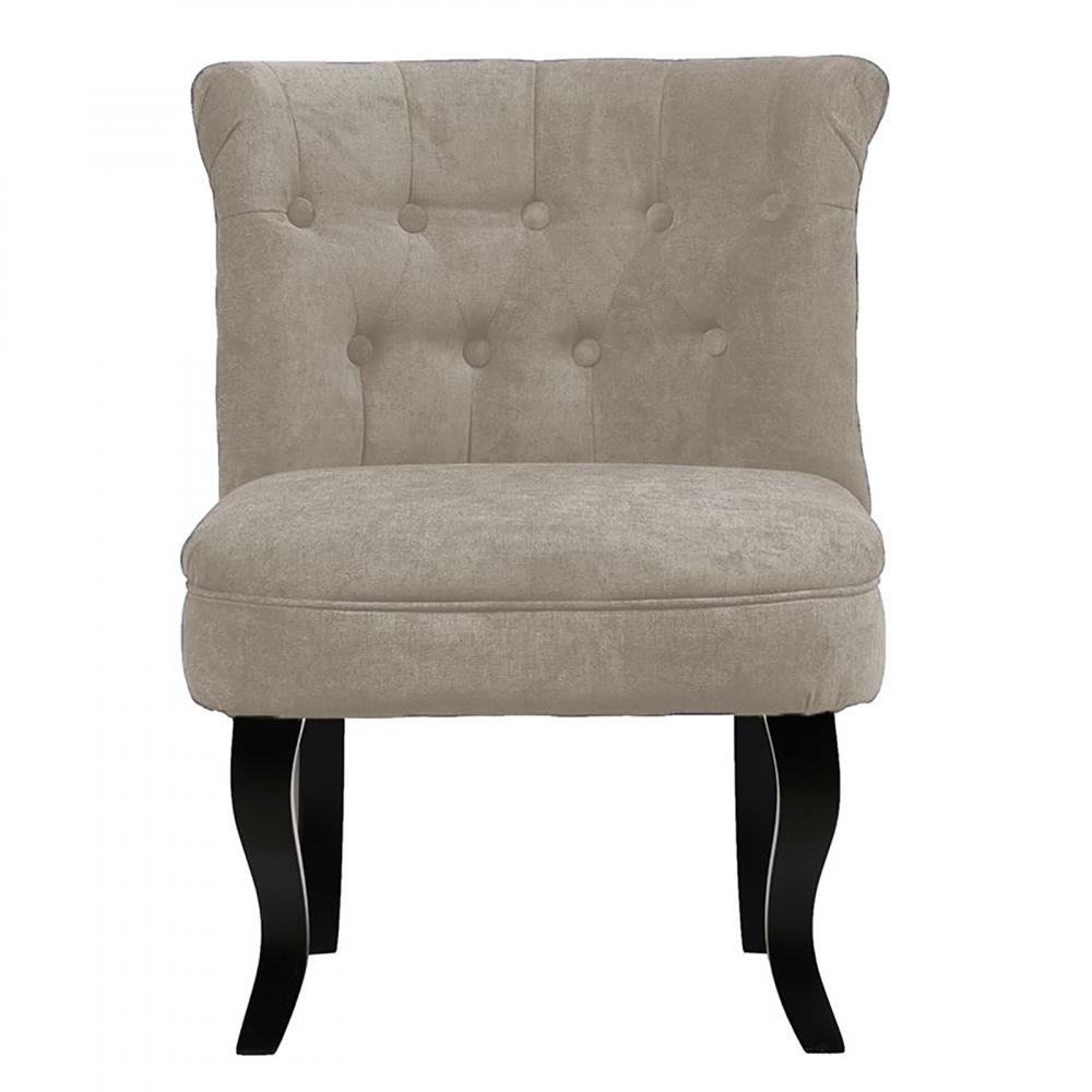 Кресло Dawson Светло-Серый ВелюрКресла<br>Кресло Dawson — неимоверно комфортное, удобное <br>и красивое — выглядит так, словно вам его <br>только что доставили из роскошного дома <br>аристократической Франции. Богатая обивка, <br>благородная форма деревянного каркаса <br>самого предмета мебели, изящные ножки, нежный <br>цвет — все говорит о его изысканности и <br>шарме. Такое кресло непременно украсит <br>ваш дом, добавив не только очарование и <br>лоск, но и уют и тепло.<br><br>Цвет: Светло-серый<br>Материал: Велюр, Дерево<br>Вес кг: 8,5<br>Длина см: 50<br>Ширина см: 50<br>Высота см: 73