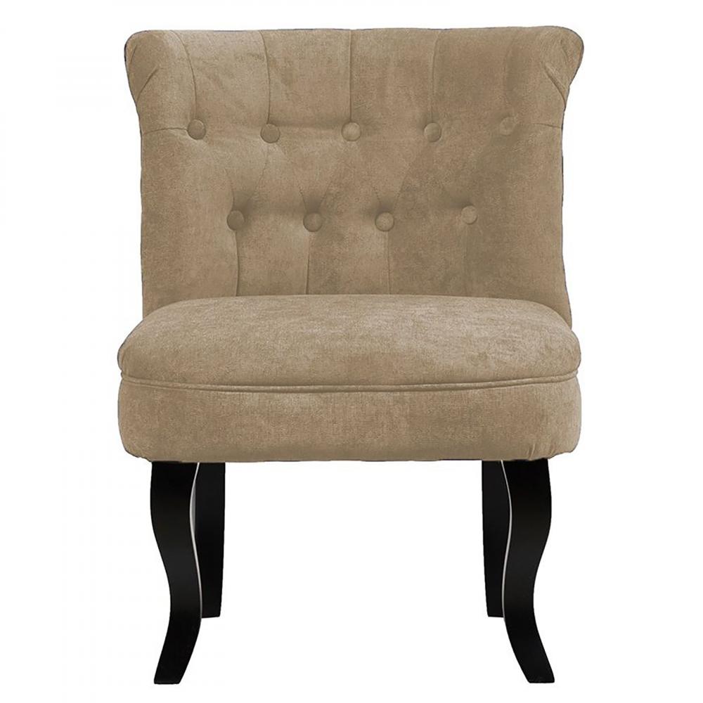 Кресло Dawson Светло-Бежевый ВелюрКресла<br>Кресло Dawson — неимоверно комфортное, удобное <br>и красивое — выглядит так, словно вам его <br>только что доставили из роскошного дома <br>аристократической Франции. Богатая обивка, <br>благородная форма деревянного каркаса <br>самого предмета мебели, изящные ножки, нежный <br>цвет — все говорит о его изысканности и <br>шарме. Такое кресло непременно украсит <br>ваш дом, добавив не только очарование и <br>лоск, но и уют и тепло.<br><br>Цвет: Светло-бежевый<br>Материал: Велюр, Дерево<br>Вес кг: 8,5<br>Длина см: 50<br>Ширина см: 50<br>Высота см: 73