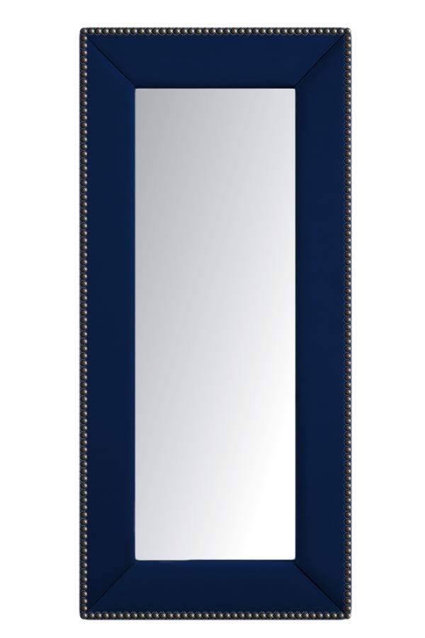 Купить Зеркало напольное с гвоздиками Синее в интернет магазине дизайнерской мебели и аксессуаров для дома и дачи