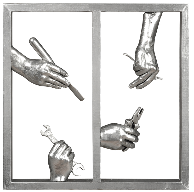 """Купить Панно """"Руки"""" в интернет магазине дизайнерской мебели и аксессуаров для дома и дачи"""