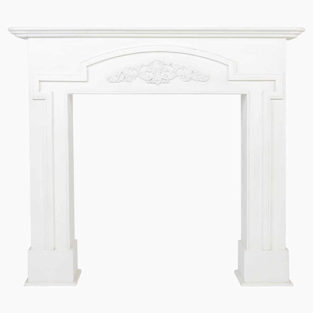Купить Каминный портал «Тюильри» белый в интернет магазине дизайнерской мебели и аксессуаров для дома и дачи