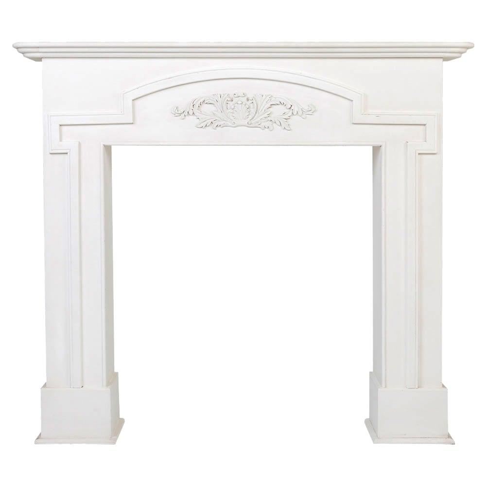 """Купить Каминный портал """"Венсен"""" Белый в интернет магазине дизайнерской мебели и аксессуаров для дома и дачи"""