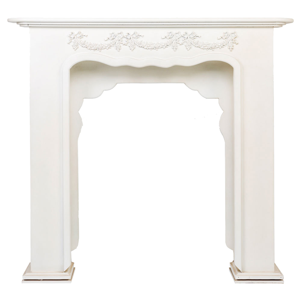 """Купить Каминный портал """"Жарден"""" белый в интернет магазине дизайнерской мебели и аксессуаров для дома и дачи"""