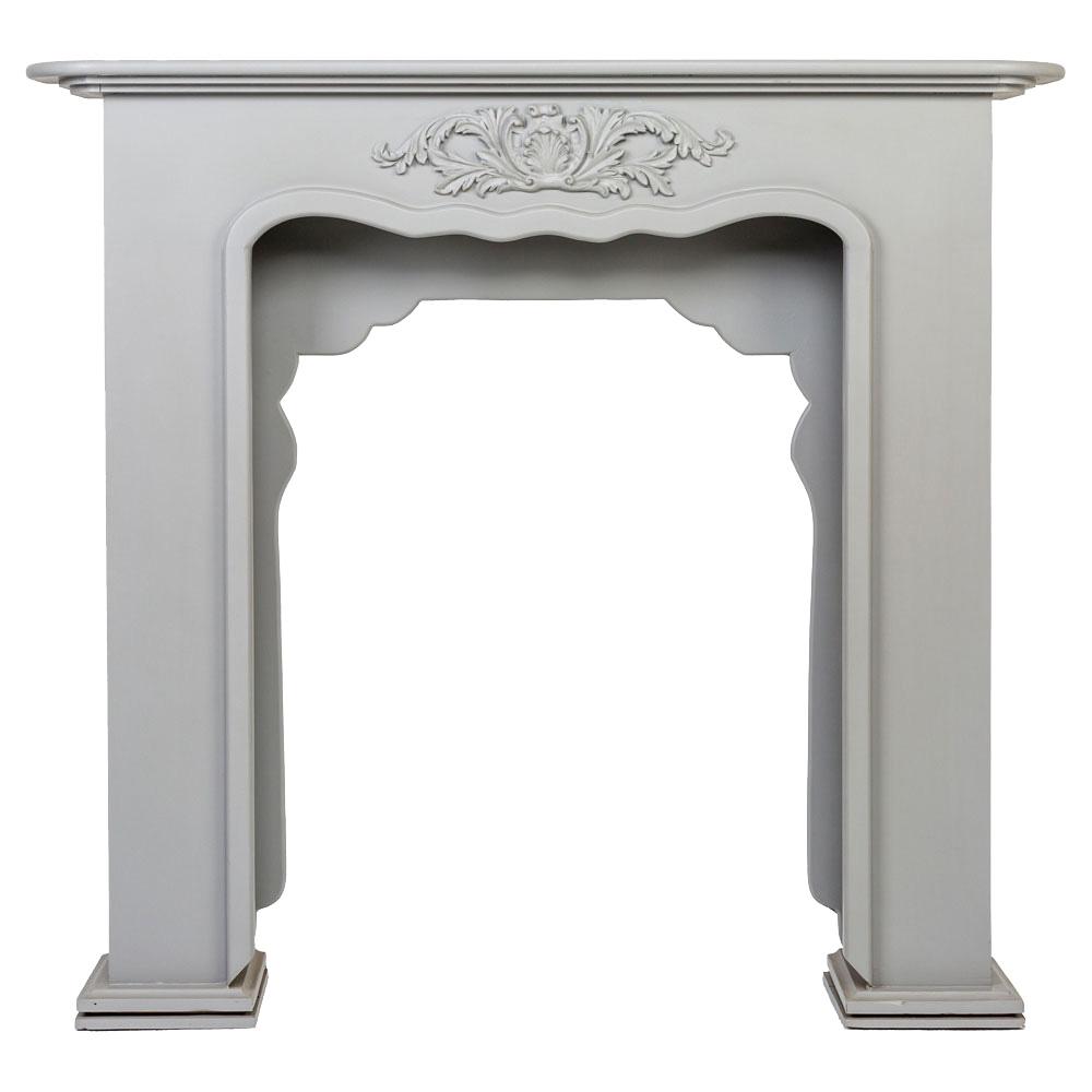 """Купить Каминный портал """"Вандом"""" серый в интернет магазине дизайнерской мебели и аксессуаров для дома и дачи"""