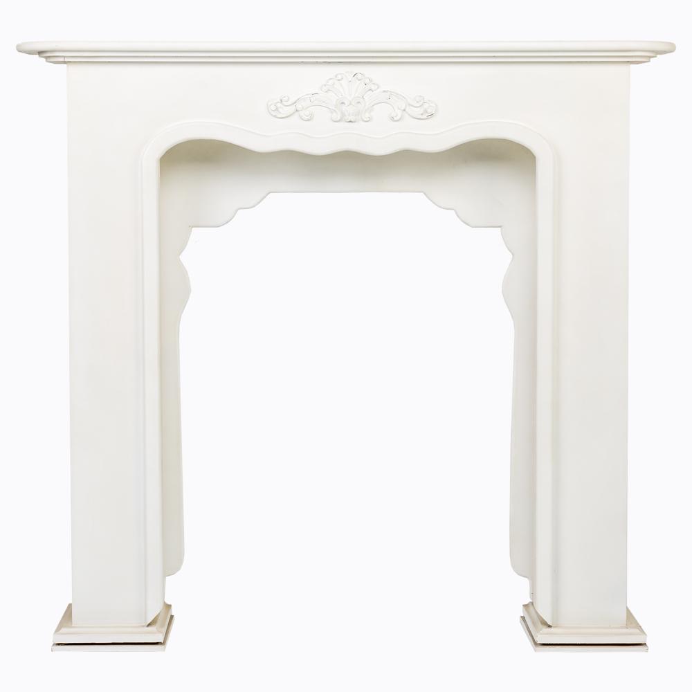 """Купить Каминный портал """"Монсо"""" белый в интернет магазине дизайнерской мебели и аксессуаров для дома и дачи"""