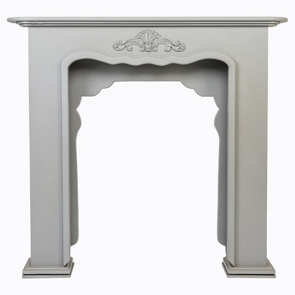 """Купить Каминный портал """"Монсо"""" серый в интернет магазине дизайнерской мебели и аксессуаров для дома и дачи"""