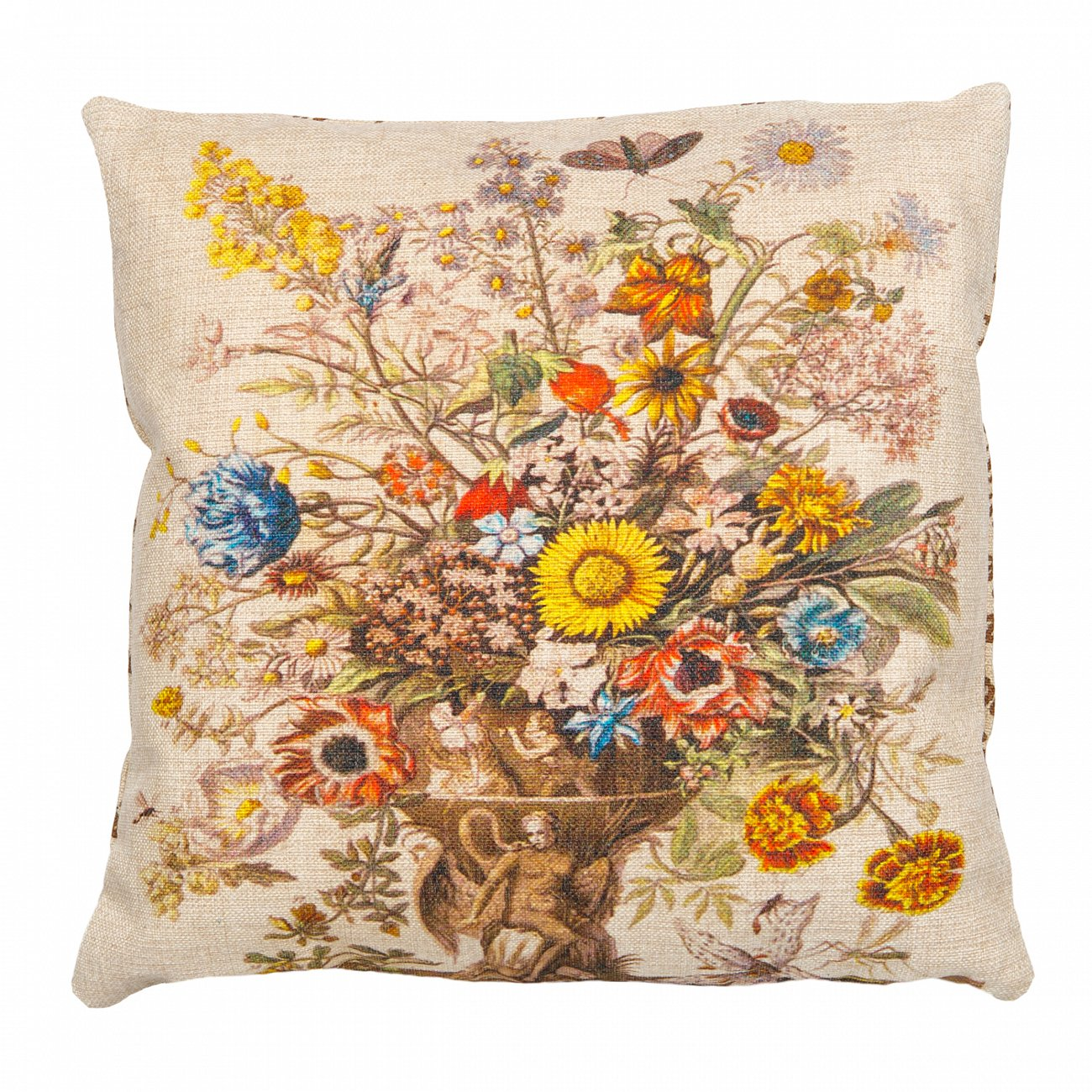 Купить Декоративная подушка «12 месяцев цветения», версия Ноябрь в интернет магазине дизайнерской мебели и аксессуаров для дома и дачи